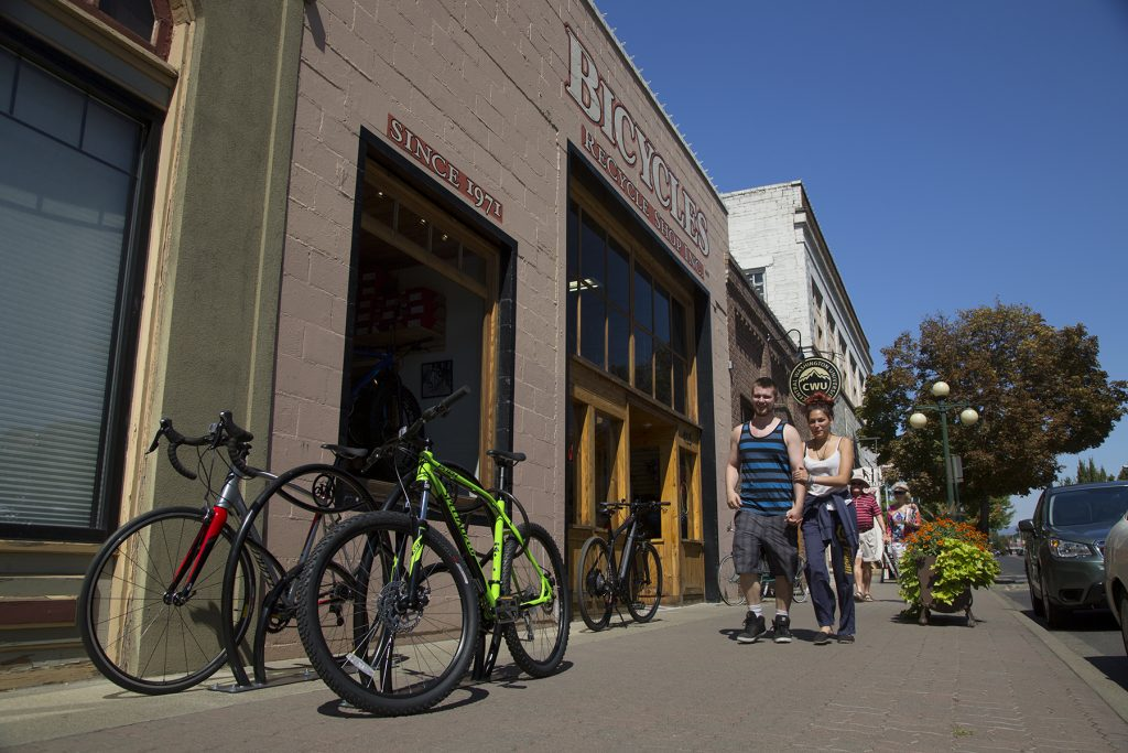 Bike Downtown Ellensburg